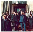 Heydar Aliyev at the National Library